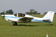 G-CCUL - 2004 build Europa XS, at the 2011 LAA Rally