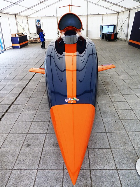 Bloodhound SSC, 1000 mph car