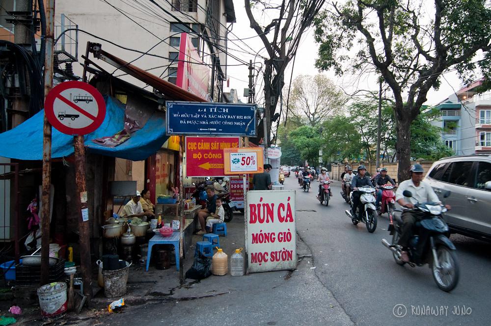 Bun Ca Hanoi Vietnam