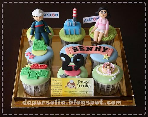 Cupcake Set - Ratna & Benny