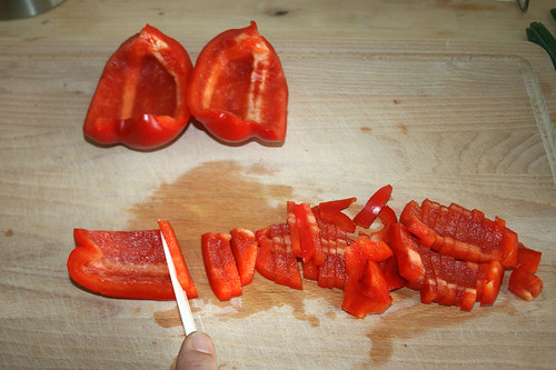 15 - Paprika schneiden / Cut paprika