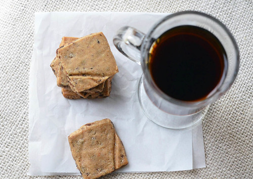 Chocolate Covered Espresso Bean Shortbread Cookies | Fork ...