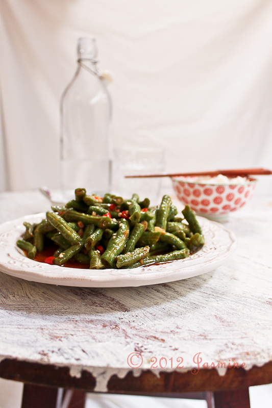 Spicy Snake Beans Stir-fry