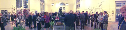 Photo of the opening exhibition at the U.S. Botanic Garden