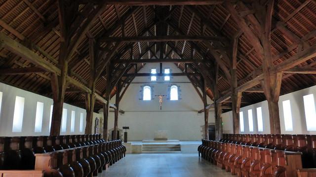 241 La nouvelle église, Abbaye de Saint-Wandrille