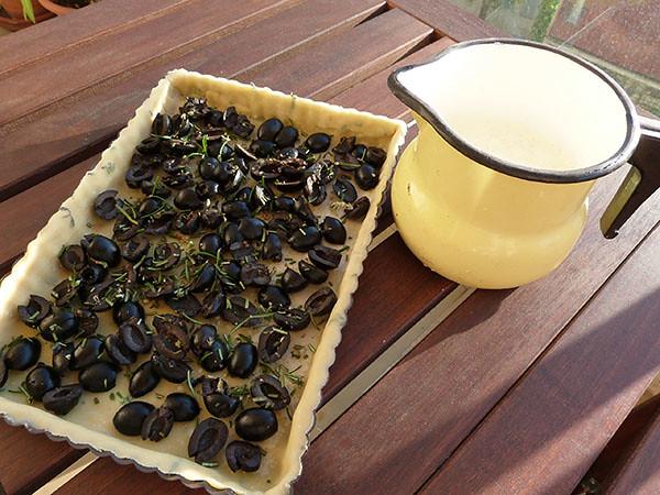 tarte aux olives 1