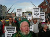 Pat Allen - Pensioners March Against Cuts