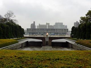 Image of Flame of Peace. japan peace hiroshima flame bomb atomic