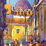 Frank Francese, Holy Spirit Iglesia - Quetzaltenango - 25th Annual Colorado Watercolor Society Exhibition