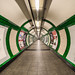 Green Route Redux - Embankment Underground London by Simon & His Camera