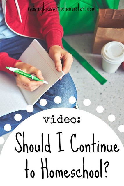 [Video] Should You Continue Homeschooling?