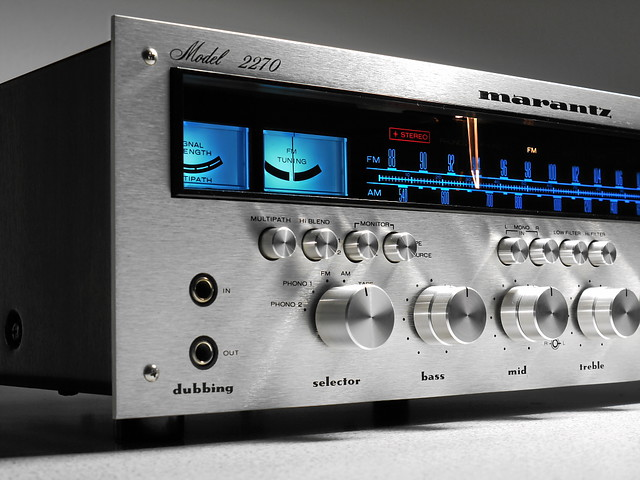 marantz 2270 stereo receiver flickr photo sharing. Black Bedroom Furniture Sets. Home Design Ideas