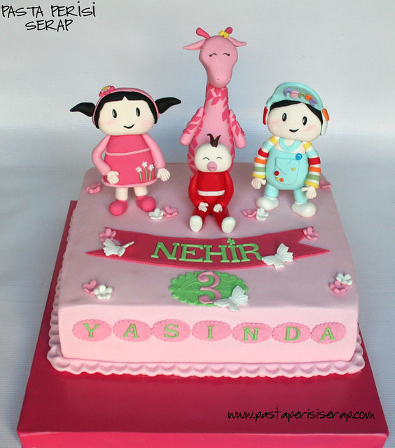 peppe cake- NEHİR 3ND BIRTHDAY CAKE