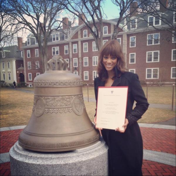 Tyra Banks Harvard Graduate (10)