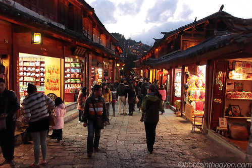 Twilight Streets of Lijiang