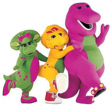 Barney-retro