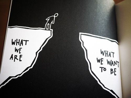 """Steal Like An Artist - """"What we are vs. what we want to be"""""""