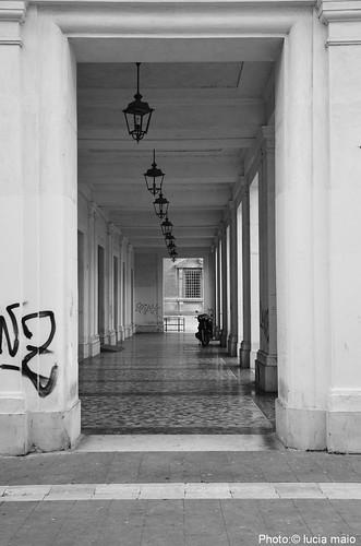 portico di piazza roma a benevento