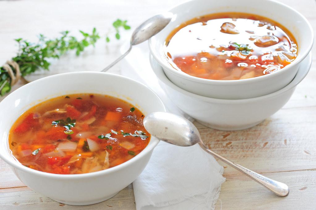 chicken & veg soup-3