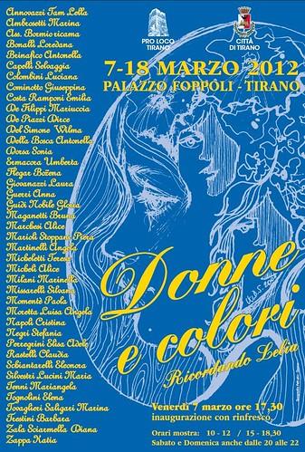 Locandina Donne e Colori 2012