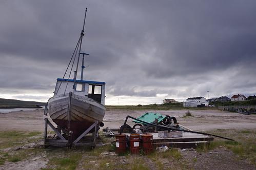 sky panorama norway clouds sunrise landscape boat norge nikon barca nuvole post alba decay cielo norvegia postale hurtigruten vadsø abbandono d90 nikond90 albitai