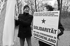 solidarity for the people of greece