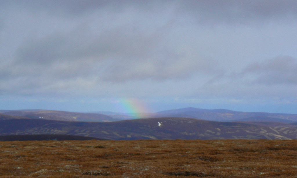 Distant rainbow