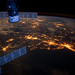 Atlantic Coast at Night (NASA, International Space Station, 02/06/12)