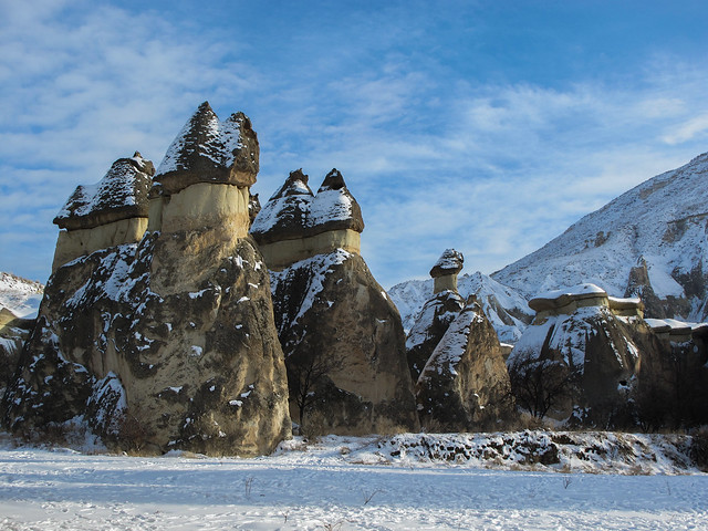 Cappadocia Region in Winter
