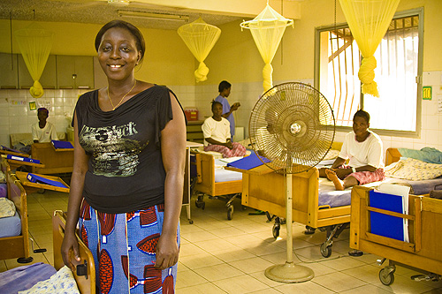 Mercy Ships' Aberdeen Wet African Fistula Center