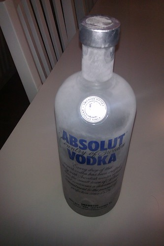 This vodka is frozen solid by christopher575