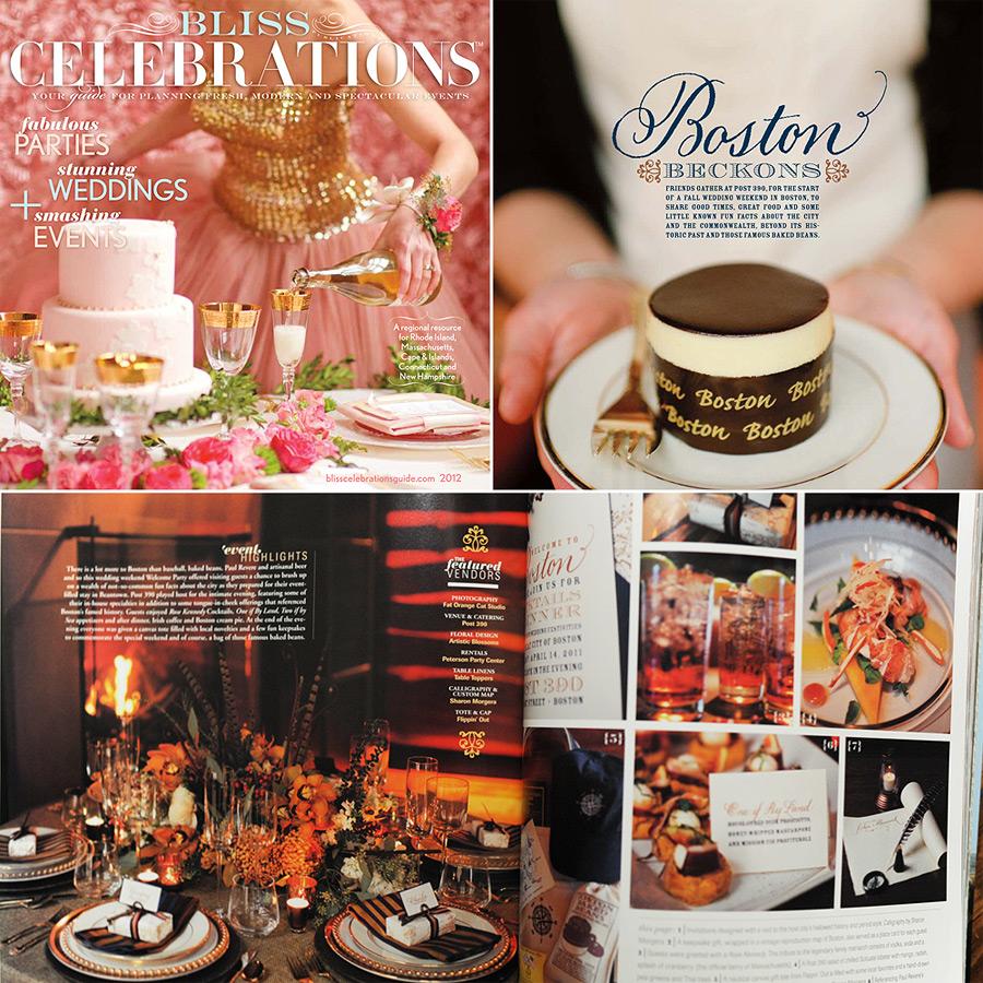 Bliss Celebrations magazine 2012