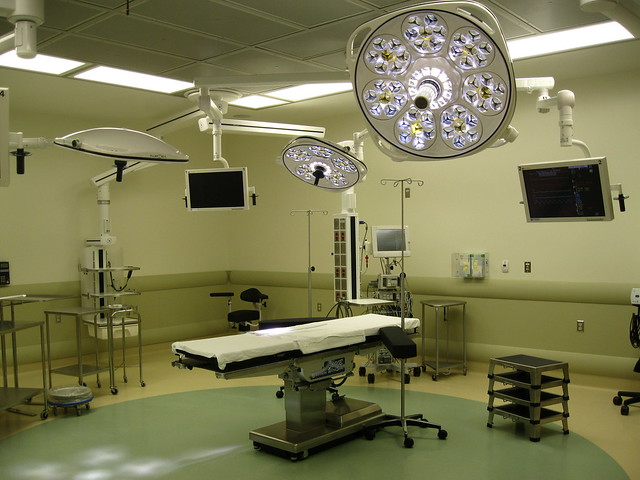 Cardiac operating room