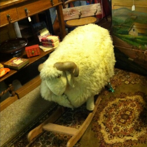 Sheep rocker.