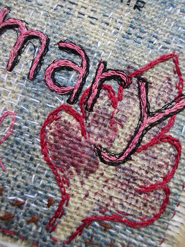 flag 20 for mary detail