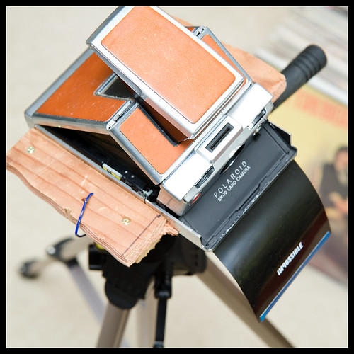 Homemade SX-70 Holder