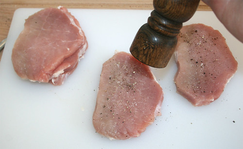 09 - Mit Salz & Pfeffer würzen / Taste with salt & pepper