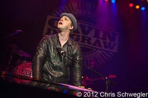 Gavin DeGraw - 03-09-12 - Royal Oak Music Theatre, Royal Oak, MI