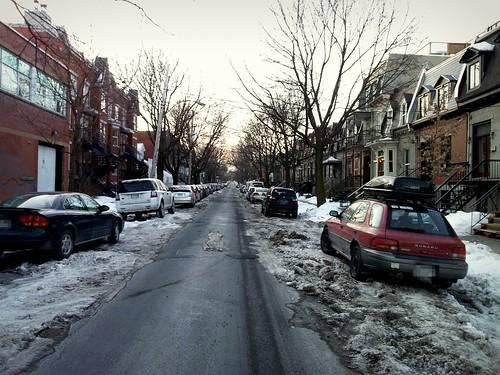 Streets Unplowed