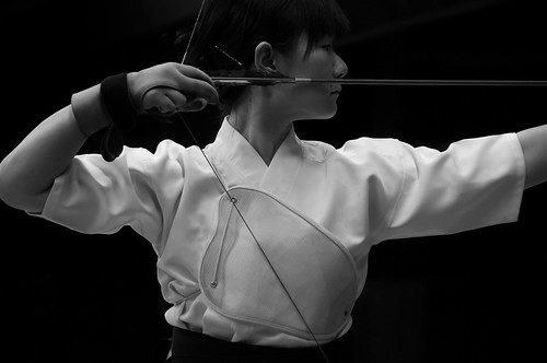 The dark arrow - Kyūdō 弓道 - japanese archery