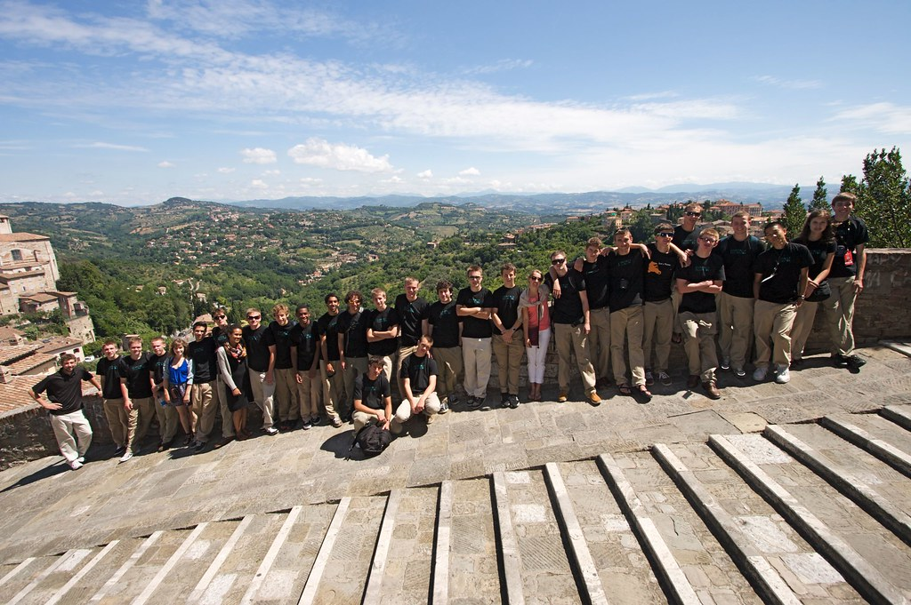 Garfield High School Jazz Band in Perugia