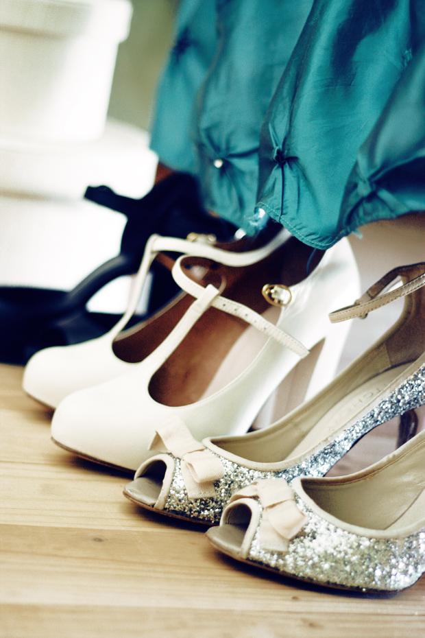 glitter  shoes b