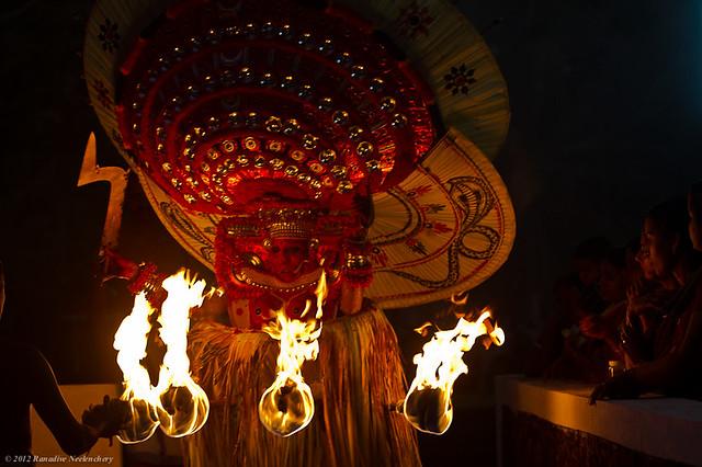 Theyam : Bhagavathi