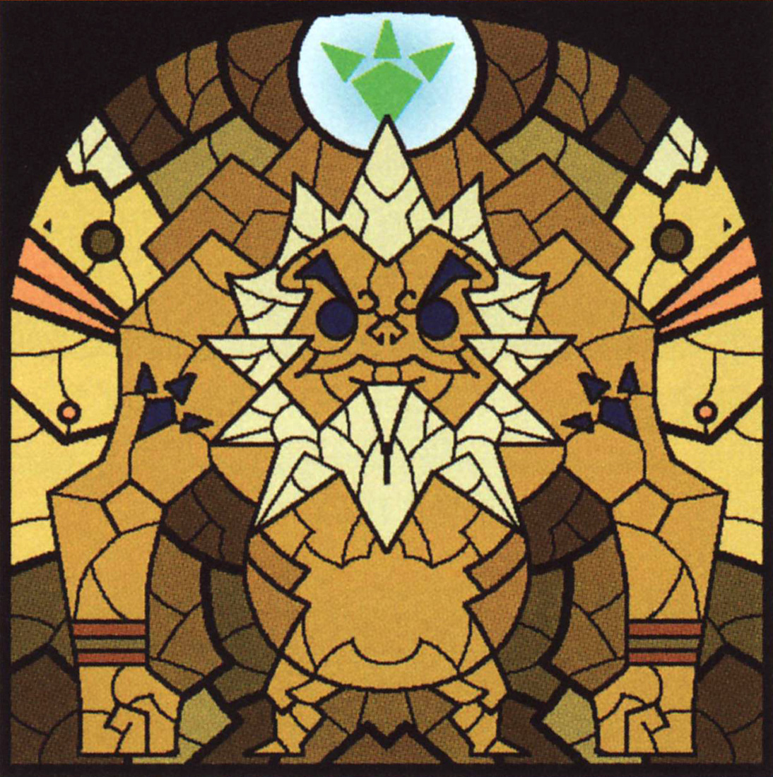 WW Stained Glass Darunia