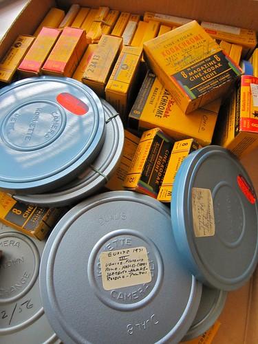 Vintage Home Movie Film