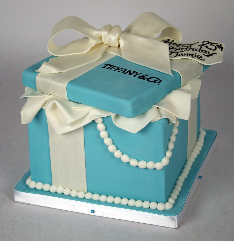 tiffany cake box