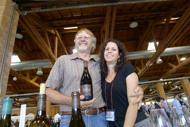 The only USA winery on the fair: AmByth Estate, California