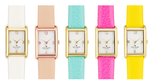 kate spade tank watches