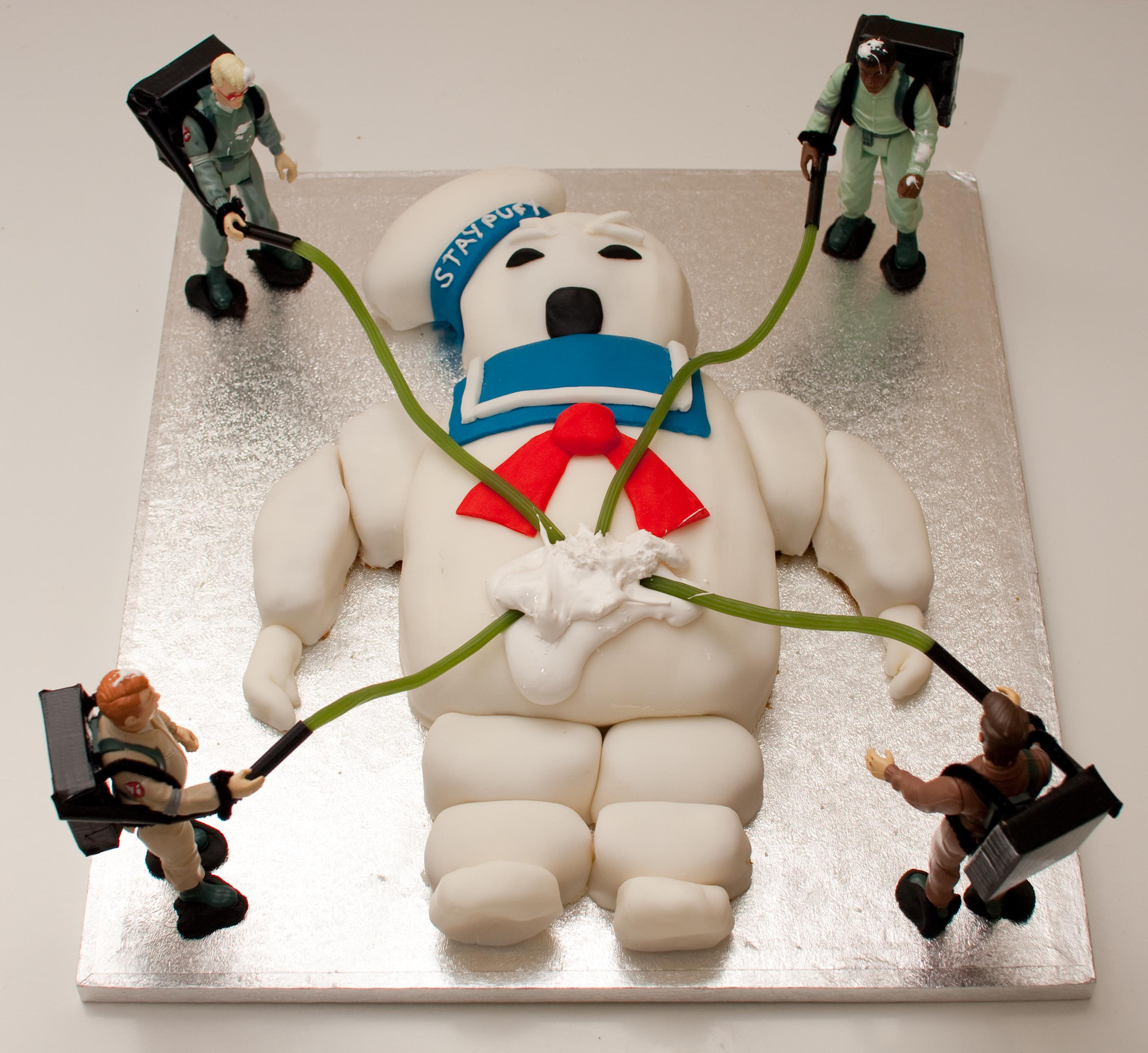 Birthday Cake For A Man Of God ~ Ghostbusters cake for squeezeomatic s birthday by poppet with a camera flickr photo