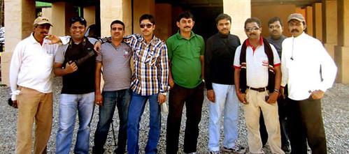 Apurba, Myself, Subherjit, Ashish, Joy, Subhasish, Sujoy, Ashish & Biswajit